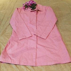 Gap Pink Trench Coat Sz. M
